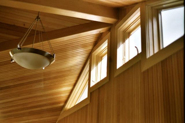 CT Residential Green Design Firm - Ceiling and Beam renovation