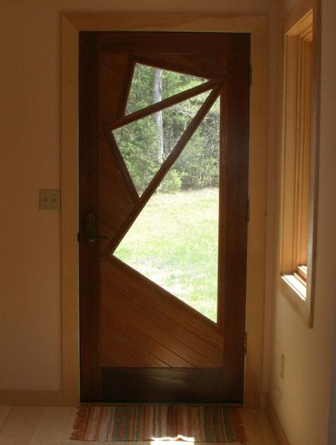 CT Residential Green Design Firm - Custom Door